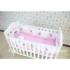 minnie mouse infant bedding set white baby cot free pink mouse bedding set minnie mouse cot