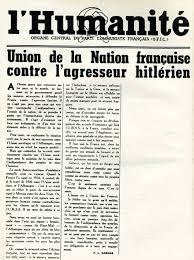 """Résultat de recherche d'images pour """"Contre le pacte germano-soviétique Images"""""""