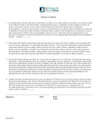 Magnificent Liability Release Form Template Photos - Resume Ideas ...