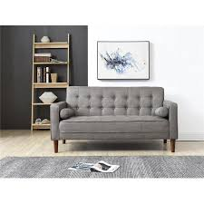 Couch for small space Inches Wide Walmart Nathaniel Home Nolan Small Space Sofa Multiple Colors Walmartcom