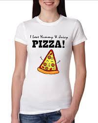 Pizza Shirt Designs Juicy Pizza Girly T Shirt Design