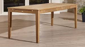 table extension. regatta extension dining table crate and barrel