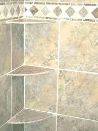 shower shelves for tile corner shower shelf tiles big subway glass wall modern j shelves installation