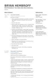 Finisseur De Bton Exemple De CV Base De Donnes Des CV De VisualCV