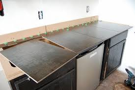 wunderbar large porcelain tile kitchen countertops 101 how to build counters diydiva gorgeous