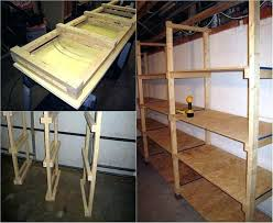 basement storage shelves plans best diy how to build inexpensive furniture extraordinary