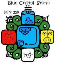 Resultado de imagen para torment a  cristal  azul calendario maya