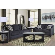 Teal Sofa 7piece Creeal Heights Living Room Collection Big Lots Rent To Own Living Room Furniture Aarons