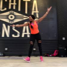 Zumba class at Dennis Schoenebeck NORTH YMCA - Greater Wichita YMCA with Aisha  Smith