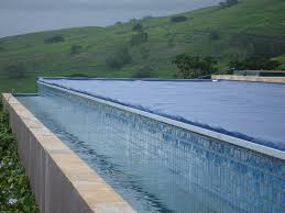 infinity pool edge. Infinity Edge Pool Design Safety Cover Detail M