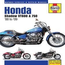 honda shadow vt 600 service manual 1988 2009 honda shadow honda shadow vt 600 service manual