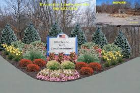 commercial sign area planting bed design landscape design backyard design landscaping0 landscaping