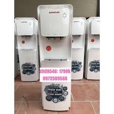 Cây nước nóng lạnh cao cấp có 3 chế độ nước (nóng,lạnh, thường), có van  khóa vòi nóng SHD9546 của Sunhouse