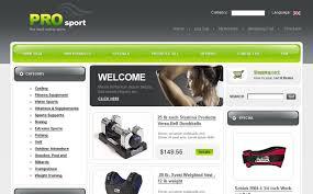 Sports Store Zencart Template