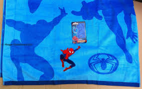 towel for kids. Blue Marvel Spiderman Beach Towel Boys/Kids Large 86x160cm For Kids