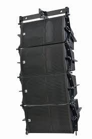 concert speakers system. pa system + arrays speakers +outdoor concert loudspeaker l