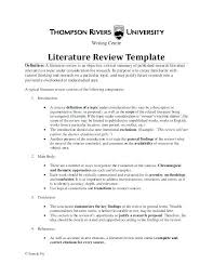 Literature Review Essay Literature Review Writing Services
