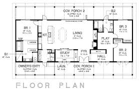 single level ranch house plan single level house plans with two master suites house plans open