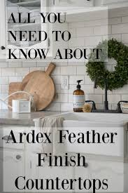 more diy kitchen posts ardex feather finish
