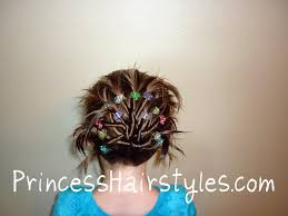 5 Minute Hairstyles For Girls Funky Twist Fan Hairstyle Hairstyles For Girls Princess Hairstyles