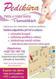 Pedikura Petra Zavadilová Komplexní Péče O Vaše Nohy