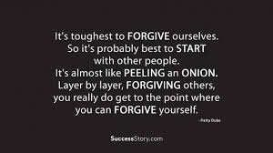 40 Forgiving Yourself Quotes Famous Quotes SuccessStory Unique Forgive Yourself Quotes