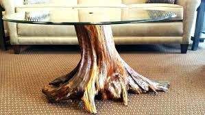 reclaimed wood stump table side tables wood trunk side table large size of furniture pine tree