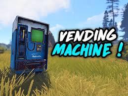 Vending Machine Rust Amazing Le Commerce Dans Rust Arrive Vending Machine Rust Lab YouTube
