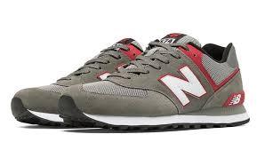 new balance lifestyle shoes. new balance 574 lifestyle shoes \u0026 grey with red white