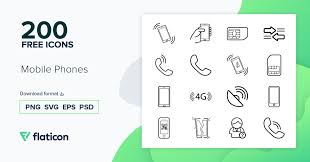 Download 334 vector icons and icon kits.available in png, ico or icns icons for mac for free use. Mobile Phones 200 Free Icons Svg Eps Psd Png Files