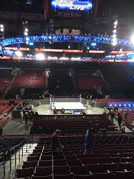 Wells Fargo Wwe Seating Chart Wells Fargo Center Section 114 Row 13 Seat 4 Wwe