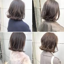 ボブ パーマ ボブヘアー 切りっぱなしlano By Hair ボブ切りっ