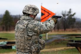 u s department of defense photo essay  a ier competes in the pistol qualification during the 2014 best warrior competition on fort mccoy wis 29 2014 u s army photo by army staff