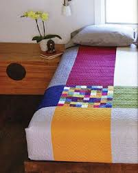 644 best Modern Quilts images on Pinterest | Crafts, Artists and ... & Minimal Style bedroom and quilt version 1 with patchwork detail from April  Rosenthal's book. Photo (c) Gale Zucker Adamdwight.com