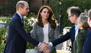 William And Kate Step Out To Support Mental Health Text