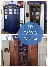 nerdy office decor. Fun Nerdy Home Decor Geek DIY TARDIS Bookshelf Cabinet Crafts Pinterest Office