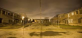 altgeld gardens at night