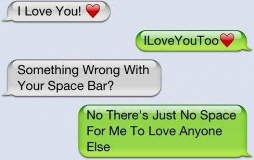 i love you text message