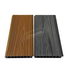 seamless installation of waterproof fade outdoor composite decking floor