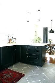 dark gray slate floor tile dark grey kitchen floor tiles kitchen gray floor white cabinets best
