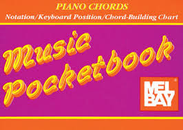 Mel Bay Piano Chords Music Pocket Book Chord Chart & Progressions ...