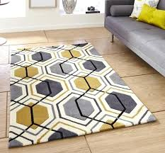 yellow area rug target grey