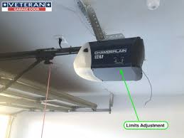 garage door opens halfwayChamberlainLiftmaster Travel Limit and Force Adjustment