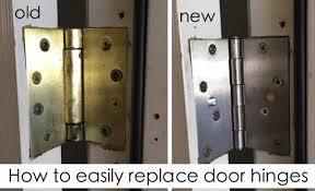 seriously that s how easy it is to replace hinges no door removal or anything such a simple and inexpensive update to a dated home