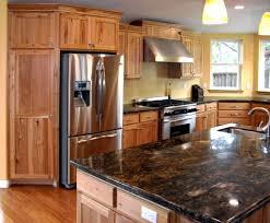 custom rustic kitchen cabinets. Rustic Kitchen : Colors Beautiful Custom Hickory . Cabinets E