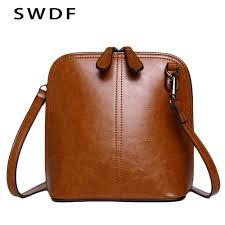 Designer Messenger Bags Womens Swdf 2019 Genuine Leather Womens Shoulder Bags Womens
