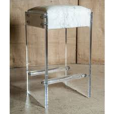 Maurice Lucite bar stool. Add style and a touch of Hollywood glam to your  decor