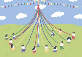 Image result for maypole images