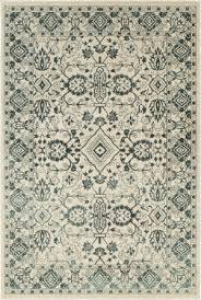 oriental weavers jayden 7371c ivory blue area rug