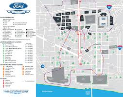 Parking Maps Ford Field